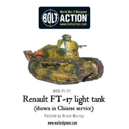 French Renault FT-17 light tank 2