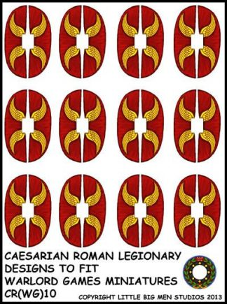 Caesarian Roman shield design 10 1