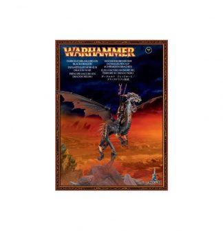 Dark Elf Dreadlord on Black Dragon 1