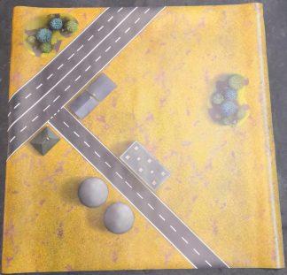 Vinyl Game Mat 36 x 36 1