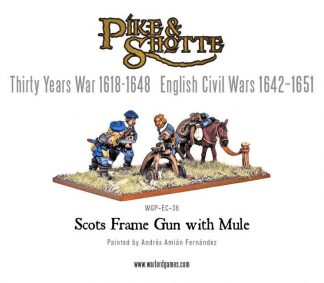 Scots Frame Gun with Mule 1