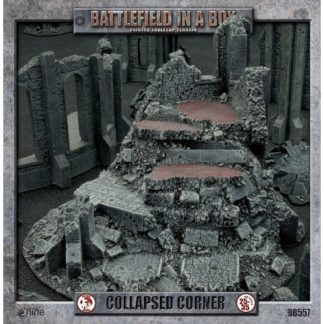 Battlefield in a Box: Gothic Collapsed Corner 1