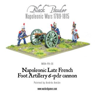 French 6 pounder Foot Artillery 1