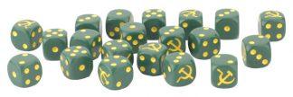 Late War Soviet Dice Set 1