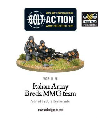 Italian Army Breda MMG Team 1