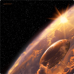 Star Wars X-Wing: Bespin Playmat 1