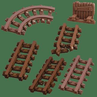 Terrain Crate: Mine Track 1