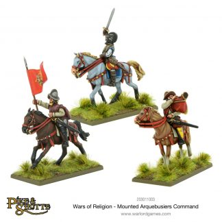 Mounted Arquebusiers Command 1
