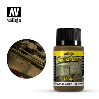 Weathering Effects 40ml - European Splash Mud 1