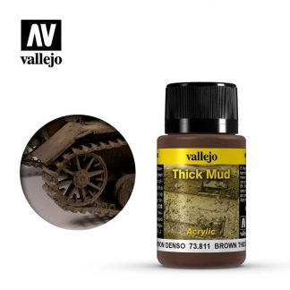 Weathering Effects 40ml - Brown Thick Mud 1