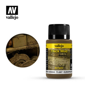 Weathering Effects 40ml - European Thick Mud 1