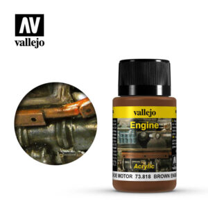 Weathering Effects 40ml - Brown Engine Soot 1