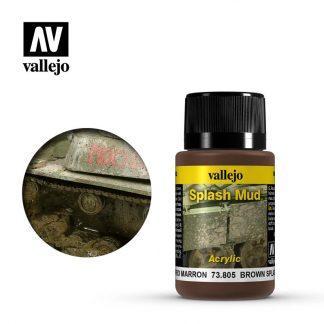 Weathering Effects 40ml - Brown Splash Mud 1