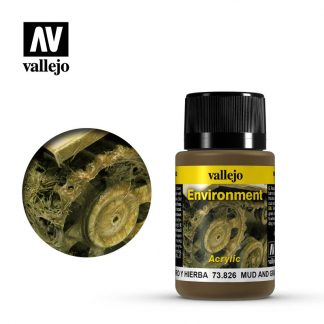 Weathering Effects 40ml - Mud and Grass Effect 1