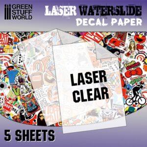 Waterslide Decals - Laser Transparent 1