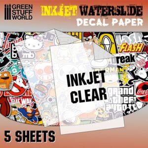 Waterslide Decals - Inkjet Transparent 1