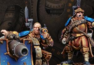 Cygnar Weapon Crews & Attachments