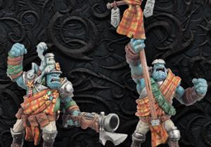 Trollblood Weapon Crews & Attachments
