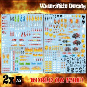 Green Stuff World   Decals Waterslide Decals - World on Fire - 8436574504002ES - 8436574504002