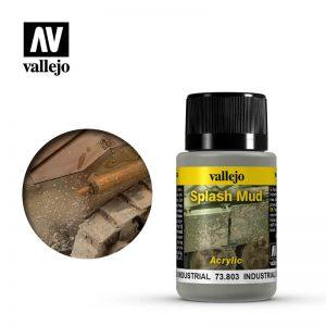 Vallejo   Weathering Effects Weathering Effects 40ml - Industrial Splash Mud - VAL73803 - 8429551738033