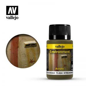 Vallejo   Weathering Effects Weathering Effects 40ml - Streaking Grime - VAL73824 - 8429551738248