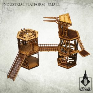 Kromlech   Kromlech Terrain Industrial Platform - Small - KRTS023 - 5902216115781
