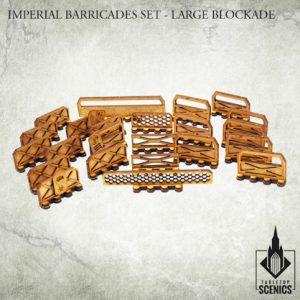 Kromlech   Kromlech Terrain Imperial Barricade Set - Large Blockade - KRTS021 - 5902216115767