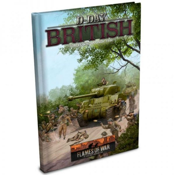 Battlefront Bolt Action  Great Britain (BA) D-Day: British Army Book - FW264 - 9781988558141