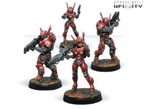 Corvus Belli Infinity  Nomads Mobile Brigada - 280576-0552 - 2805760005528