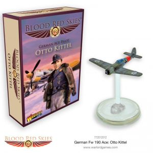 Warlord Games Blood Red Skies  Blood Red Skies Blood Red Skies: Fw 190 Ace: Otto Kittel - 772012012 - 5060572502369