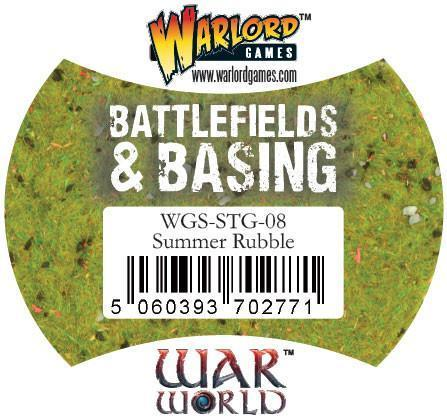 Warlord Games   Rubble & Concrete Summer Rubble - WGS-STG-08 - 5060393702771