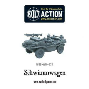 Warlord Games Bolt Action  Germany (BA) Schwimmwagen - WGB-WM-238 -