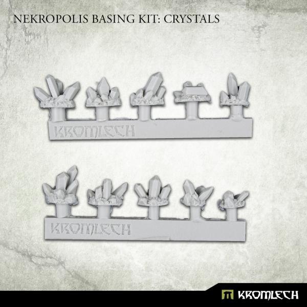 Kromlech   Basing Extras Nekropolis Basing Kit: Crystals - KRBK067 - 5908291071479
