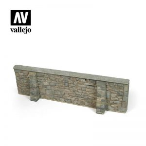 Vallejo   Vallejo Scenics Vallejo Scenics - 1:35 Ardennes Village Wall 24x7cm - VALSC106 - 8429551984652
