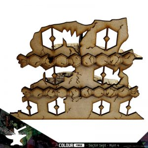 The Colour Forge   The Colour Forge Terrain Sector Sept Ruins #4 - TCF-SSR-004 - 5060843101529