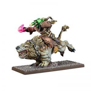Mantic Kings of War  Goblins Goblin Wiz on Mawbeast - MGKWG206 - 5060469666174