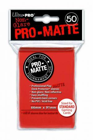 Ultra Pro   SALE! Ultra Pro Pro-Matte Sleeves (Peach) (50) - UPR84153 - 074427841539