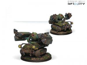 Corvus Belli Infinity  Ariadna Traktor Muls. Regiment of Artillery and Support - 280150-0323 - 2801500003236