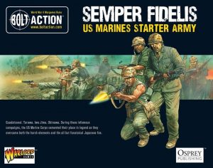 Warlord Games Bolt Action  Bolt Action Essentials US Marine Corps Starter Army - WGB-START-10 - 5060200846889