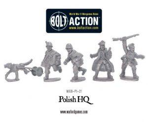 Warlord Games Bolt Action  Poland (BA) Polish HQ - WGB-PI-21 - 5060393700715