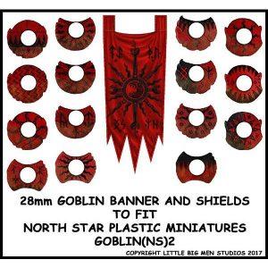 North Star Oathmark  Oathmark Goblin Banner & Shields 2 - GOBLIN(NS)2 -