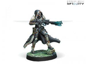 Corvus Belli Infinity  Tohaa Tohaa Clipsos Unit (Sniper) - 280916-0470 - 2809160004709