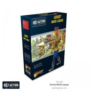 Warlord Games Bolt Action  Soviet Union (BA) Soviet NKVD squad - 402214006 - 5060572505551