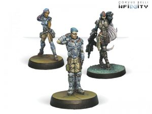Corvus Belli Infinity  Infinity Essentials Dire Foes Mission Pack 1: Train Rescue - 280002-0442 - 2800020004426