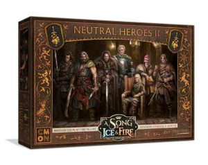 Cool Mini or Not A Song of Ice and Fire  Neutral A Song of Ice and Fire: Neutral Heroes Box #2 - CMNSIF510 - 889696009937