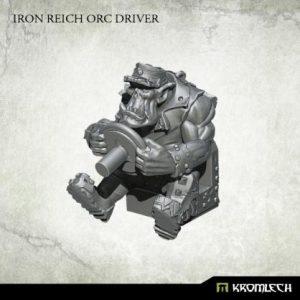 Kromlech   Orc Conversion Parts Iron Reich Orc Driver (1) - KRM140 - 5902216117006