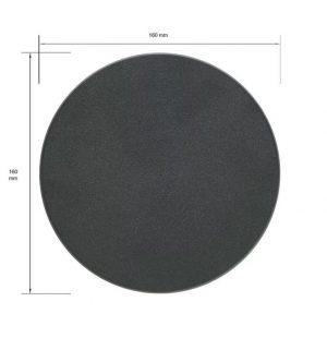 Games Workshop (Direct)   Plain Bases Citadel 160mm Round Base - 99079999013 - 5011921064694