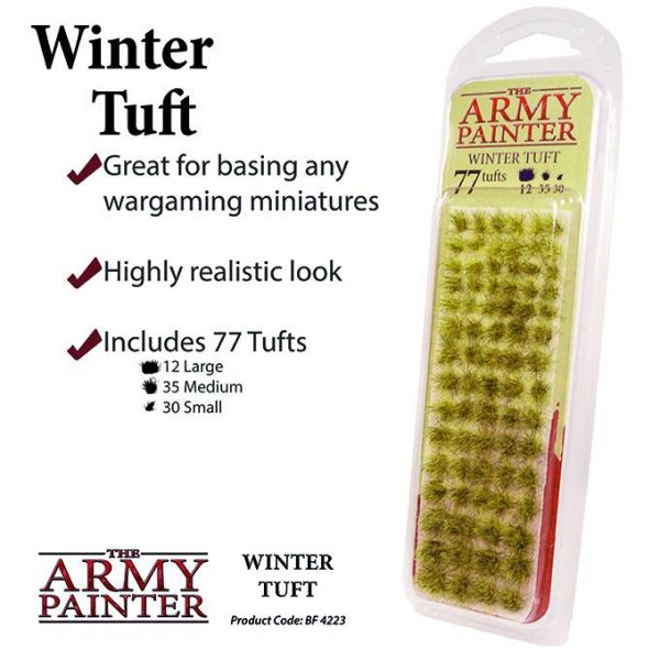 The Army Painter   Tufts Battlefields: Winter Tuft - APBF4223 - 5713799422308