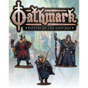 North Star Oathmark  Oathmark Elf King, Wizard and Musician II - OAK116 - oak116