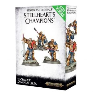 Games Workshop (Direct) Age of Sigmar  Age of Sigmar Direct Orders Stormcast Eternals Steelheart's Champions - 99120218029 -